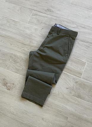 Штаны брюки tm lewin london чиносы хаки