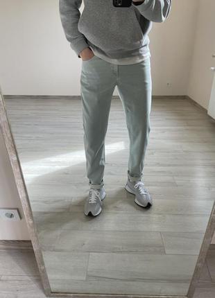 Джинсы мом зауженные джинсы asos светлые джинсы