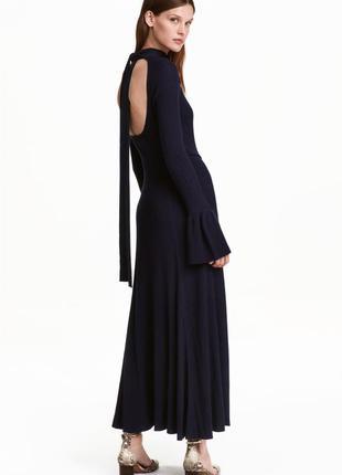 Макси платье h&m с клешными рукавами р.40 m