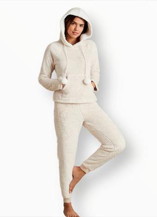 Меховая тёплая пижама m&s