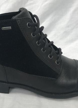 Clarks кожаные ботинки 38,5-39 р.