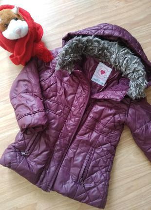 Зимнее пальто на 2-3 года