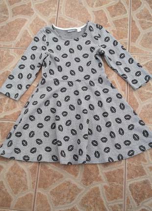 Платье детское в принт