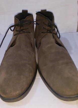 - фирменные кожаные ботинки - base london - 44 -