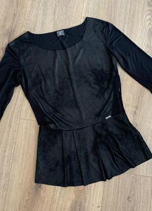 Блуза с баской guess, р.м-л