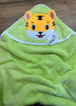 Миленькое полотенце уголок для купания 🐯- уголок.