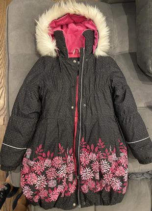 Зимове пально для дівчинки