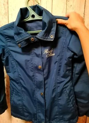 Куртка-ветровка для девочки 140 см