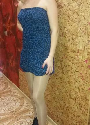 Классное мини-платье для суперстройняшки