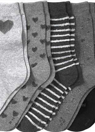 Набор из 5 пар отличных носков,  германия 39-42