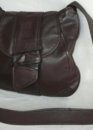 Oasis - оригинал индия сумка вместительная кожаная длинная ручка кросс-боди