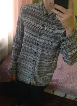 Рубашка в орнамент h&m