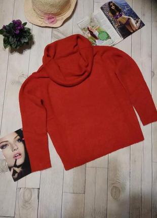Теплый вязаный свитер м