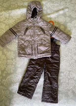 Комбинезон и зимняя куртка