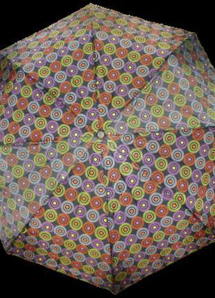 Зонт полуавтомат sl 310-3 черный