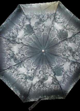Зонт полуавтомат max 101-2 серый