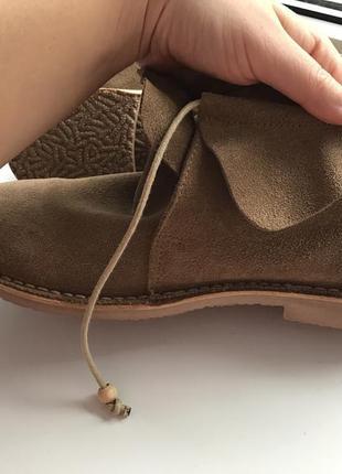 Новые ботинки дезерты