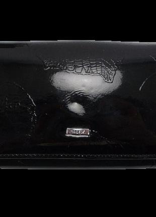 Женский кожаный кошелек balisa в826-14 черный
