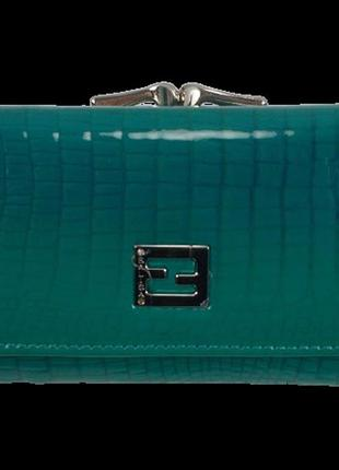 Женский кожаный кошелек balisa c711-63 бирюзовый