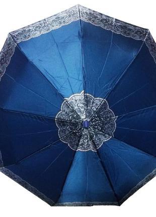 Зонт полуавтомат антиветер mario 808-1 бирюзовый
