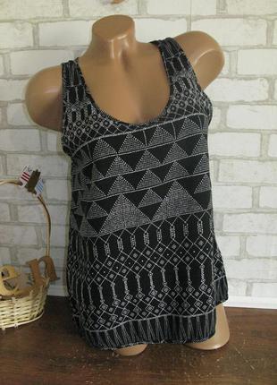 Летняя блуза - майка h&m eur 36