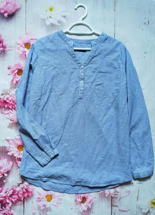 Рубашка хлопковая блуза