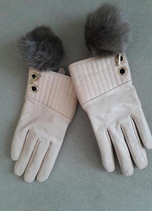 Рукавички рукавиці шкіра s