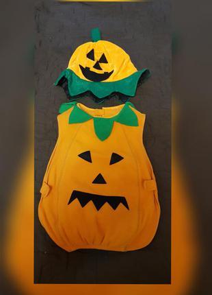 Костюм тыквы на хеллоуин