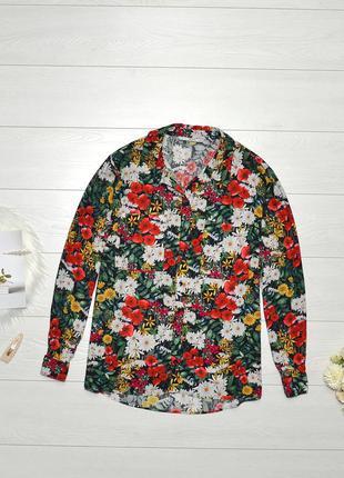 Красива блуза в квіти tu.