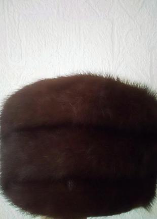 Женская шапка норочка