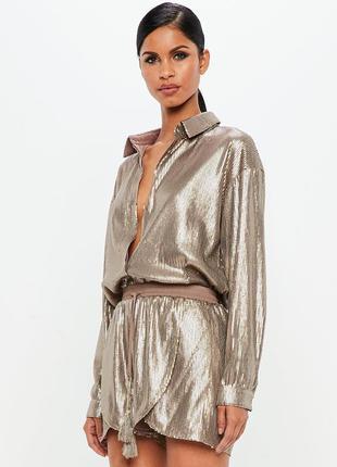 Роскошный костюм peace + love! бронзовые паетки!