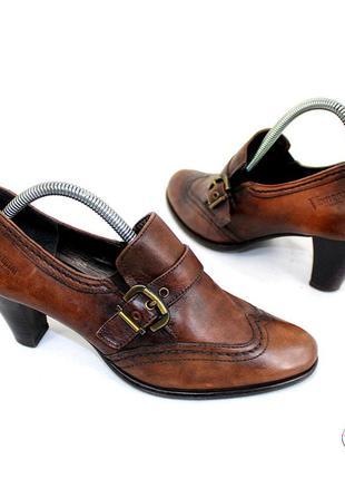 Туфли 37,5 р venturini италия кожа оригинал