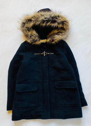 Zara  стильное деми пальто  на девочку  10 лет