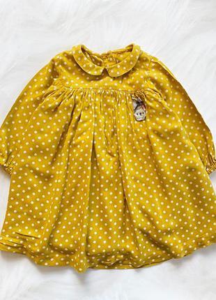 M&s стильное платье на девочку  12-18 мес