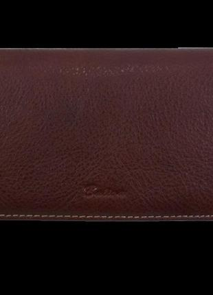 Женский кожаный кошелек balisa в143-583 коричневый