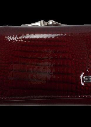 Женский кожаный кошелек balisa в825-41 бордовый