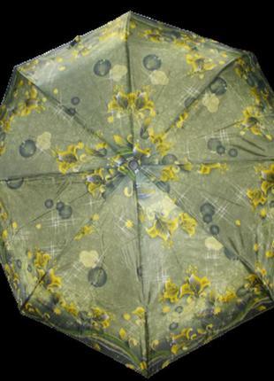 Зонт полуавтомат sl 310-2 зеленый
