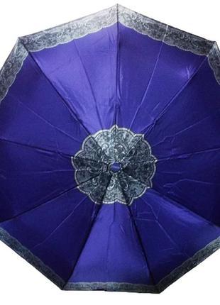 Зонт полуавтомат антиветер mario 808-4 фиолетовый