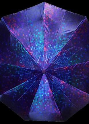 Зонт автомат антиветер lucky rain 719 фиолетовый