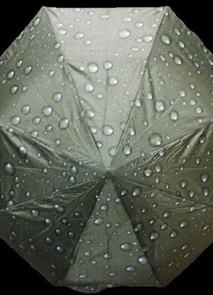 Зонт полуавтомат антиветер mario 210 хаки