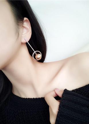 Ну о-очень крутые асимметричные серьги от boucles d'oreilles pendantes 20183 фото