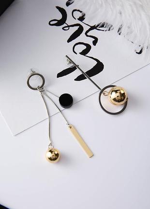 Ну о-очень крутые асимметричные серьги от boucles d'oreilles pendantes 20182 фото