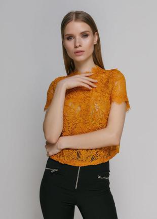 Шикарная кружечная блуза zara