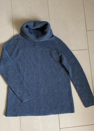 Тёплый пуловер оверсайз/ размер s-m
