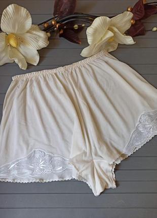 Шортики для сна из натурального шелка, низ от пижамы