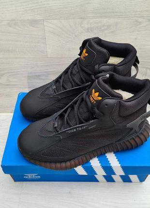 Мужские зимние кроссовки ботинки adidas yezy