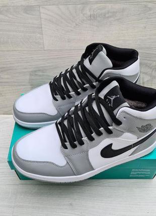 Мужские зимние кроссовки ботинки nike air jordan