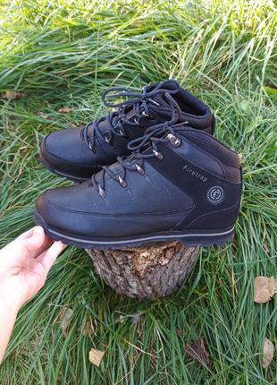 Крутые новые ботинки черевики чоботи сапоги спортивные кожаные firetrap 44 43 р оригинал