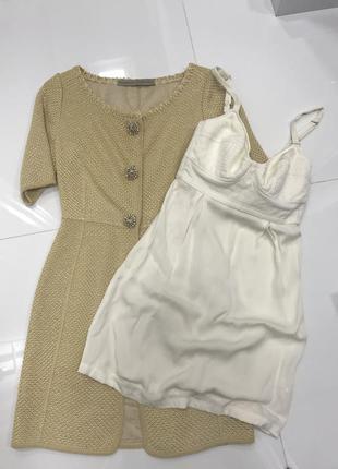 Жакет и платье ermanno scervino