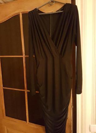 Изумительное черное платье ax paris